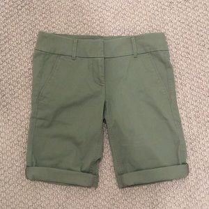 Loft Bermuda Roll Shorts